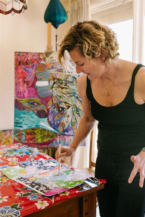 Creativity Abounds | Bec Schopen Art | Kylie Carson Photography