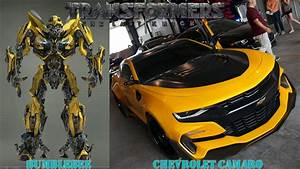 Transformers 5 Cars In Real Life - YouTube