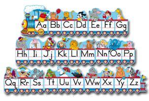 teachertoolsinccom  carson dellosa alphabet train