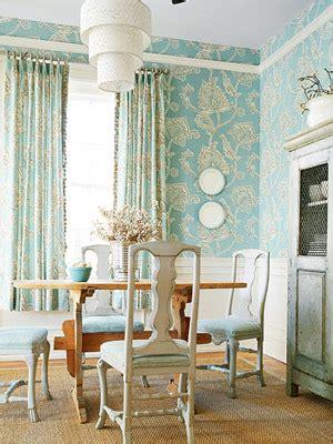 cottage style wallpaper modern wallpaper blue white dining room botanical pri