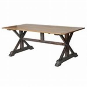 Table Pied Croisé : meubles design salle table croise ~ Teatrodelosmanantiales.com Idées de Décoration