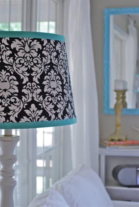 teal and white l shade 22 best images about black white and teal bedroom on