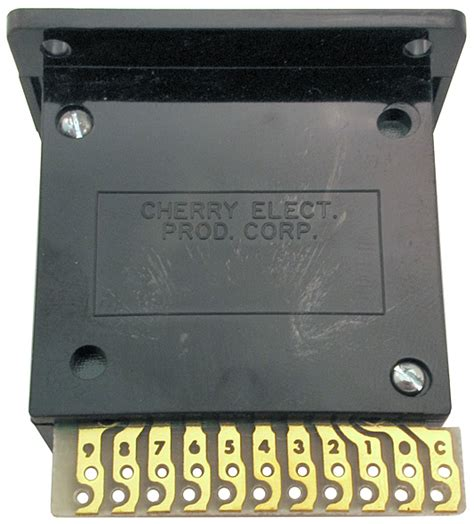 bcd thumbwheel switches
