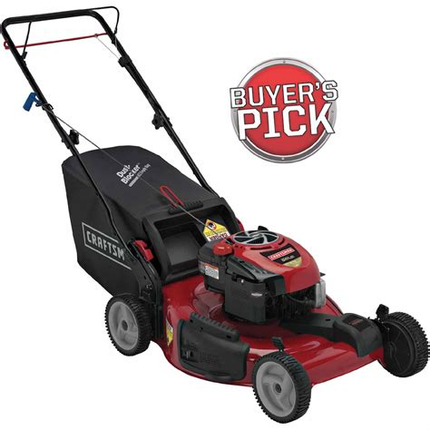 Craftsman 190cc Self-Propelled Mower: No-Hassle Mowers At ...