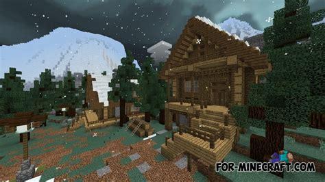 snowstorm simulator map  minecraft bedrock