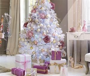 decoration de noel rose poudre With salle de bain design avec location sapin de noel décoré