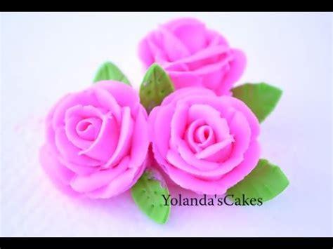 roses  royal icing youtube