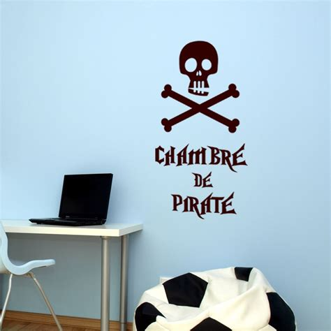chambre de pirate sticker chambre de pirate stickers citation texte