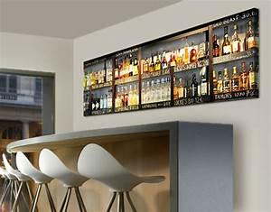 Alkohol Bar Für Zuhause : leinwand bild bilder drink lovers 39 bar 120x40 panorama alkohol flaschen regal ebay ~ Markanthonyermac.com Haus und Dekorationen