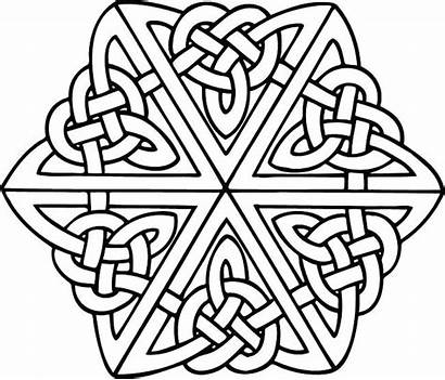Celtic Coloring Knot Pages Designs Patterns Printable