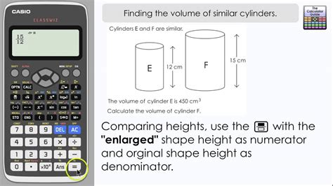 Finding The Volume Of Similar Cylinders [3d Scale Factor