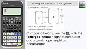Finding The Volume Of Similar Cylinders  3d Scale Factor