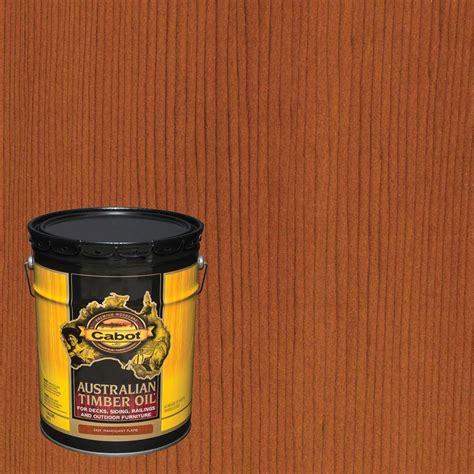 cabot  gal mahogany flame australian timber oil exterior