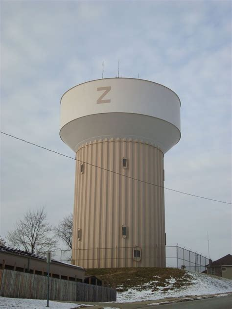 water tower  images zanesville ohio water tower