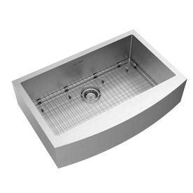 farmhouse kitchen sinks with drainboard american standard suffolk 33 in x 22 in stainless steel 8913