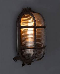 Bulkhead Light Dave In Pewter For Indoor  Outdoor