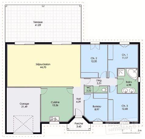 plan de maison en v plain pied 4 chambres plan de maison gratuit meilleures images d 39 inspiration