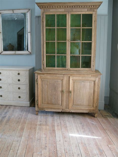 bleached oak kitchen cabinets late 18th cent bleached oak display cabinet furniture 4791