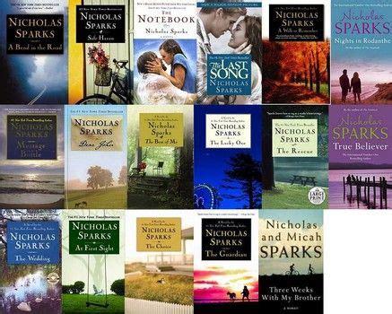 Nicholas Sparks Best Book 25 Best Ideas About Nicholas Sparks Books On