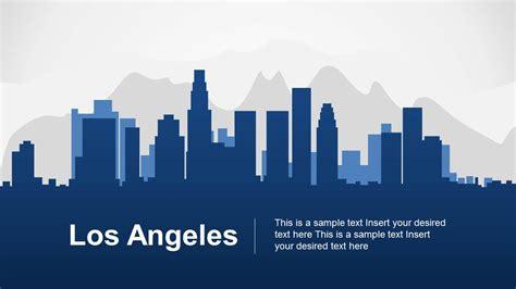 los angeles powerpoint template slidemodel