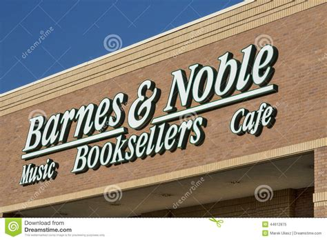 Barnes And Noble Bookstore Editorial Image