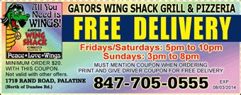 gators wing shack voted chicagos  wings