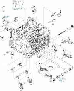 Hp Laserjet P2035 And P2055 Motor And Paper Pickup