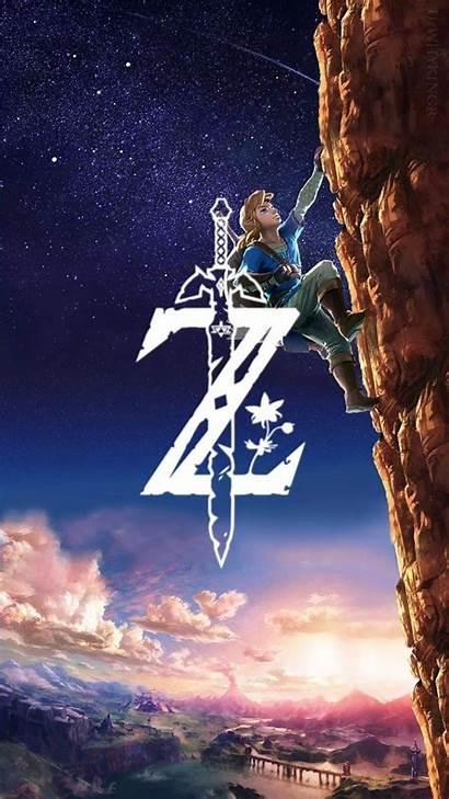 Zelda Breath Wild Mobile Phone Legend Wallpapers