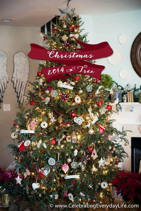 union jack inspired christmas tree celebrating