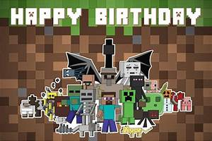 Customised MineCraft Themed Birthday Packages in SG