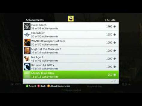g xbox 360 achievements my xbox 360 achievements