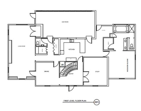 kitchen floor plans    traditional home