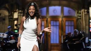 Tiffany Haddish makes history on 'Saturday Night Live' as ...