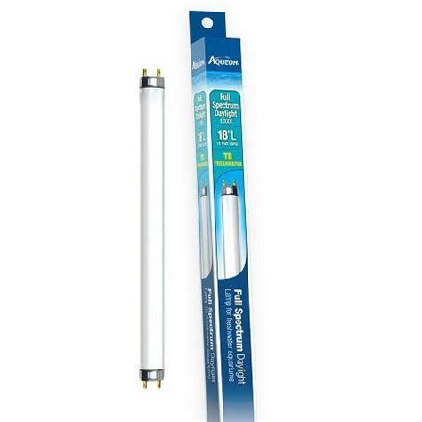 aqueon spectrum daylight t8 fluorescent l 18 inch