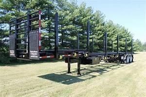 Battle Wagon Trailers 12in Drop Frame, 42ft Log Trailer