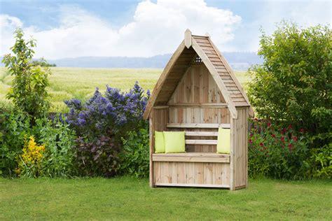edinburgh arbour  storage garden furniture knight