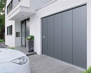 hormann porte laterale hst With porte de garage enroulable jumelé avec bloc porte métallique