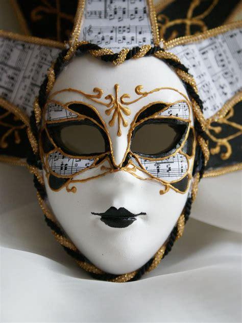 Zamaskowana: Maska wenecka 'Musical Impressions'