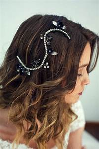 Bridal Black Hairpiece Black Hair Piece Wedding Black