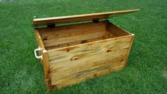 table decor diy pallet wood chest box pallet furniture diy