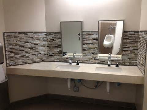 remodeled bathrooms ideas commercial restrooms mgs construction inc
