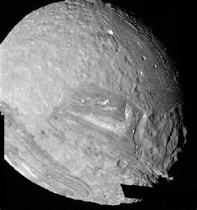 APOD: December 24, 1995 - Uranus' Moon Miranda