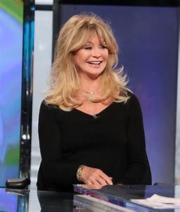 Goldie Hawn Visits 'Opening Bell with Maria Bartiromo ...