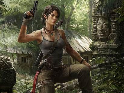 Raider Tomb Croft Lara Games Gun Pc
