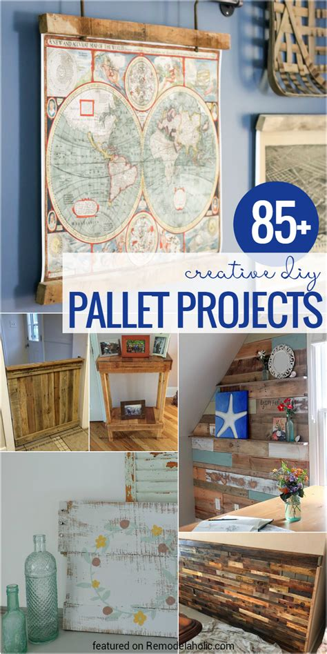 remodelaholic 85 creative diy pallet projects