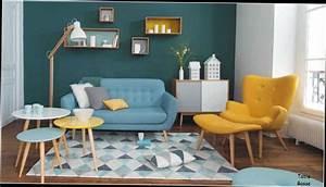 Table Basse Scandinave Bleu : table basse treteaux maison du monde blog design d 39 int rieur ~ Teatrodelosmanantiales.com Idées de Décoration