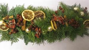 Weihnachtsdeko Basteln Für Den Tisch : weihnachtsdeko girlande basteln deko ideen mit flora shop youtube ~ Whattoseeinmadrid.com Haus und Dekorationen