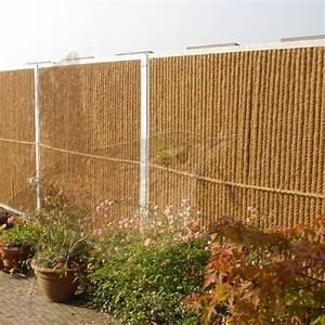 Wer Zahlt Zaun Zwischen Zwei Grundstücken : garden wall der nat rliche sichtschutzzaun aus kokos auch zum bepflanzen geeignet ~ Whattoseeinmadrid.com Haus und Dekorationen