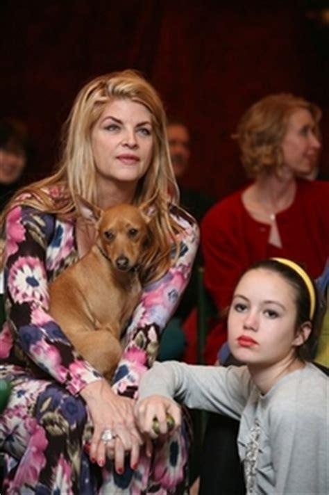 kirstie alley  kids celebritydogwatchercom