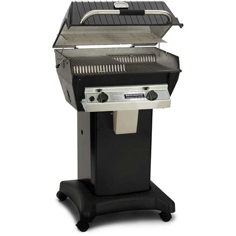 infrared grills broilmaster r3n infrared natural gas grill on black cart bbq guys